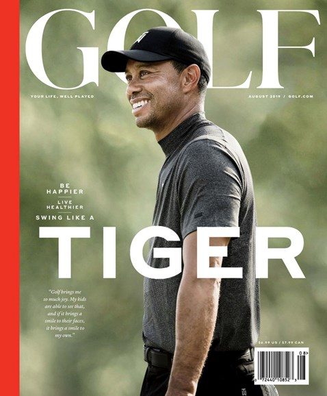 Golf Magazine Cover - 8/1/2019