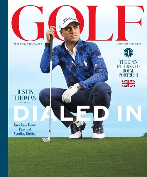 Golf Magazine Cover - 7/1/2019