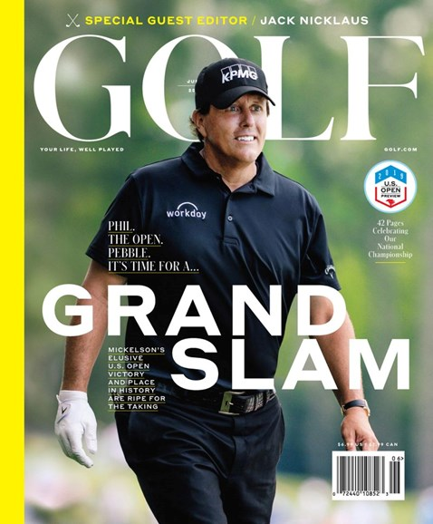 Golf Magazine Cover - 6/1/2019