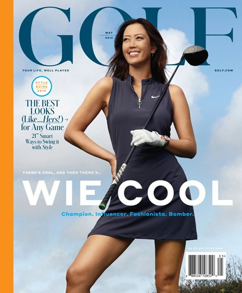 Golf Magazine Cover - 5/1/2019
