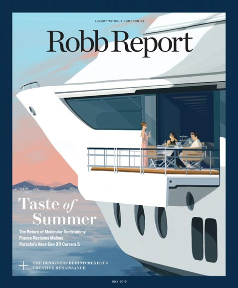 Robb Report Cover - 7/1/2019