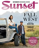 Sunset Magazine 10/1/2018