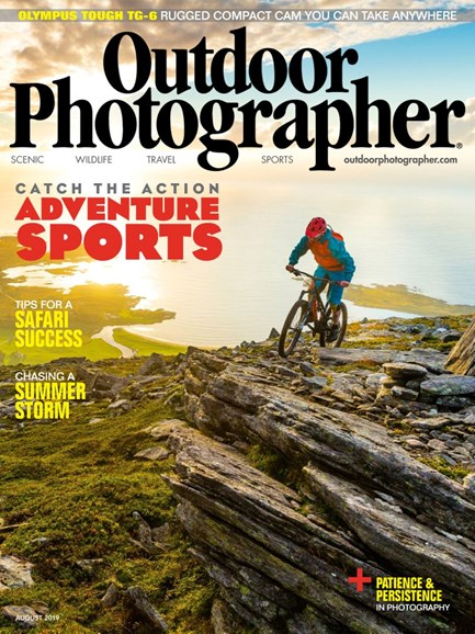 Outdoor Photographer Cover - 8/1/2019
