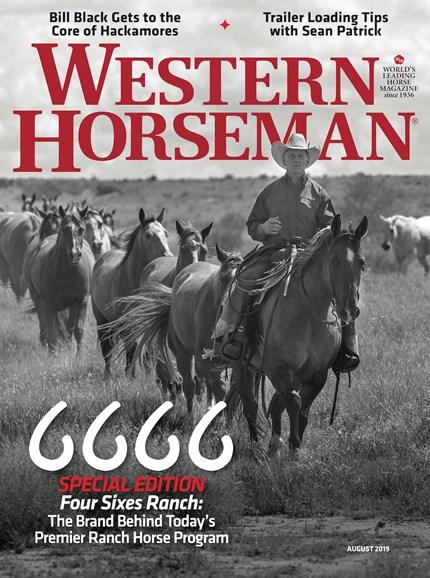 Western Horseman Cover - 8/1/2019