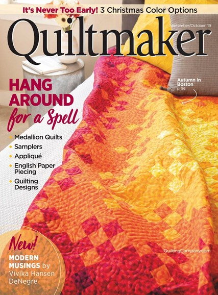 Quiltmaker Cover - 9/1/2019