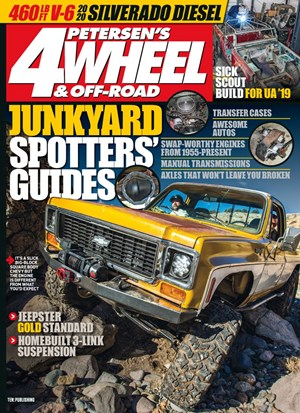4 Wheel & Off-Road Magazine | 10/2019 Cover