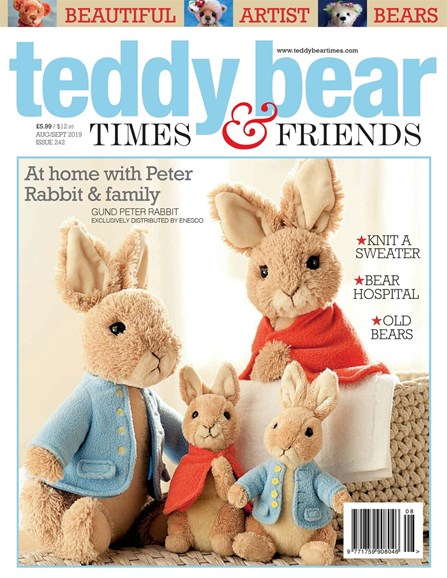 Teddy Bear Times & Friends Cover - 8/1/2019