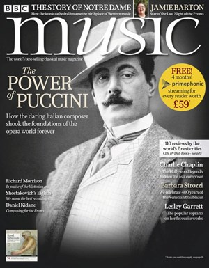 BBC Music Magazine   8/2019 Cover