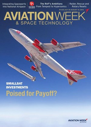 Aviation Week & Space Technology Magazine | 7/29/2019 Cover