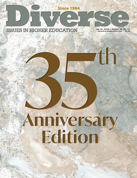 Diverse: Issues In Higher Education Cover - 7/11/2019