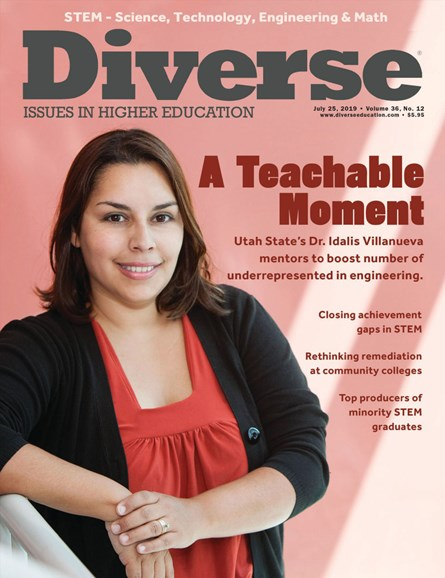 Diverse: Issues In Higher Education Cover - 7/25/2019