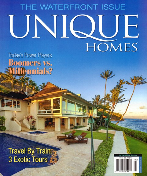 Unique Homes Cover - 8/1/2019