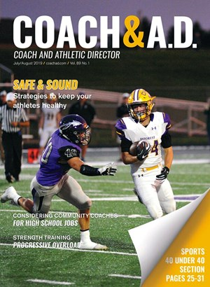Coach and Athletic Director Magazine | 7/2019 Cover