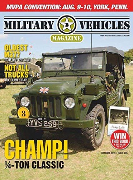 Military Vehicles Cover - 10/1/2019