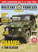 Military Vehicles | 10/2019 Cover