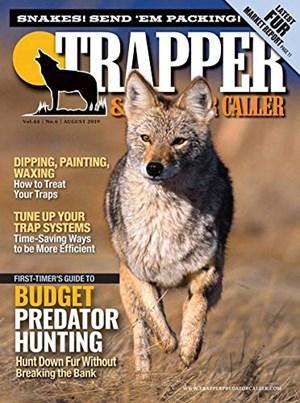 Trapper and Predator Caller Magazine | 8/2019 Cover
