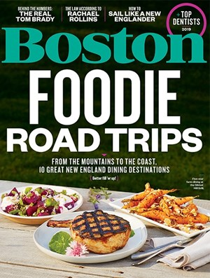 Boston Magazine | 8/2019 Cover
