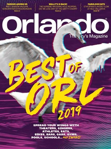 Orlando Magazine Cover - 8/1/2019