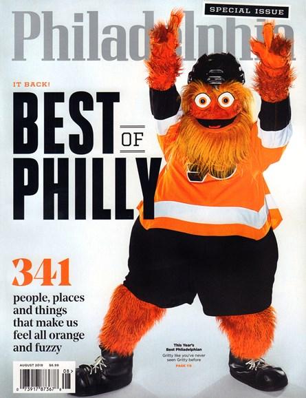 Philadelphia Magazine Cover - 8/1/2019