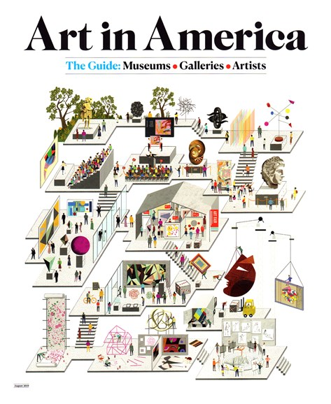Art In America Cover - 8/1/2019