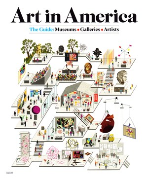 Art In America Magazine | 8/2019 Cover