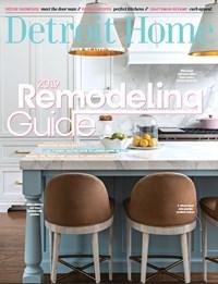 Detroit Home Magazine   8/2019 Cover