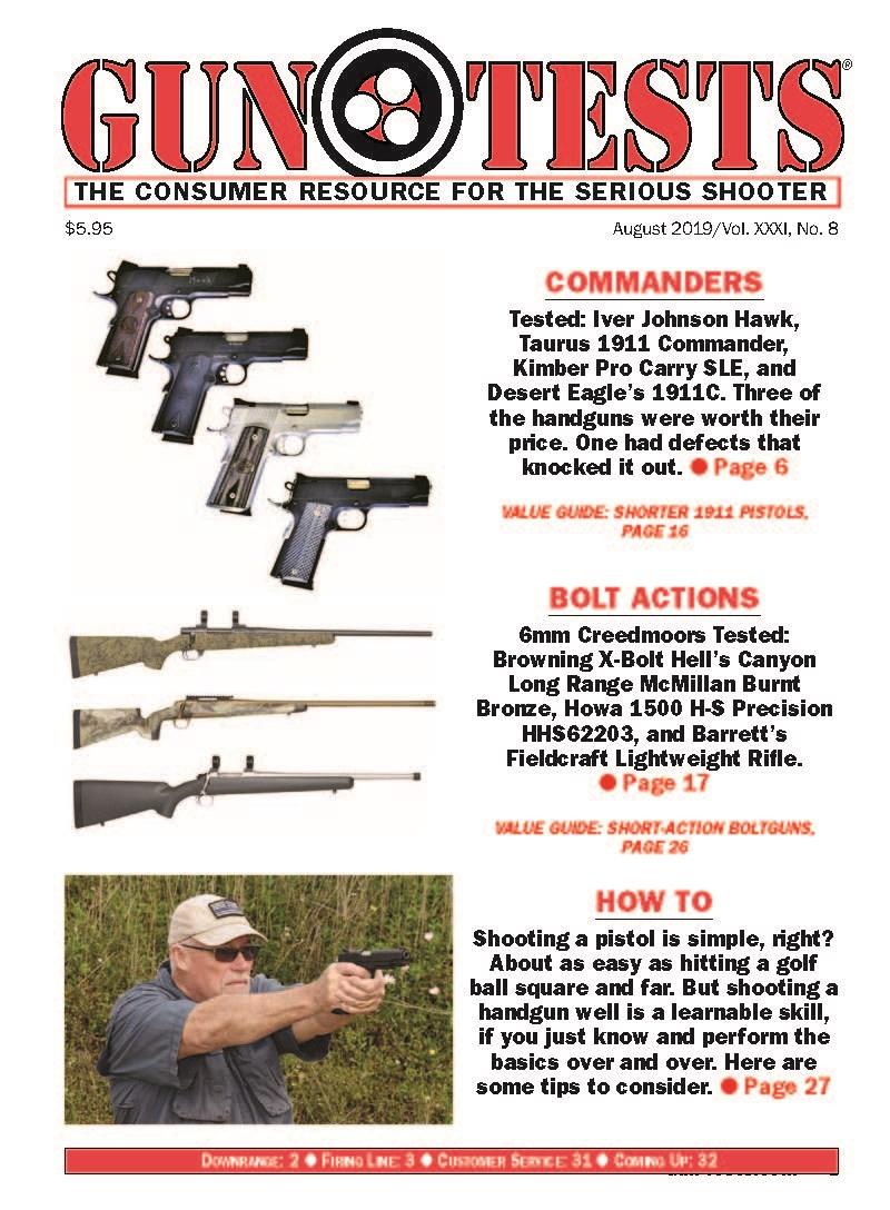 Best Price for Gun Tests Magazine Subscription