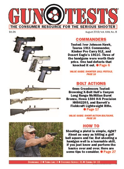 Gun Tests Cover - 8/1/2019