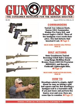Gun Tests Magazine   8/2019 Cover