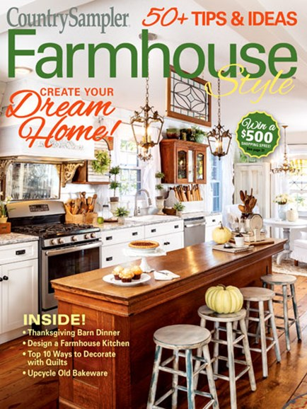 Farmhouse Style Cover - 9/1/2019