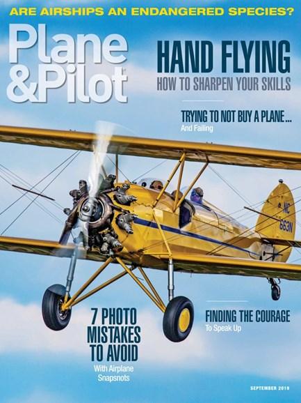 Plane & Pilot Cover - 9/1/2019