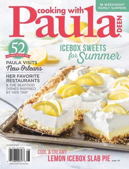 Cooking With Paula Deen Cover - 7/1/2019