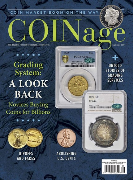 Coinage Cover - 9/1/2019