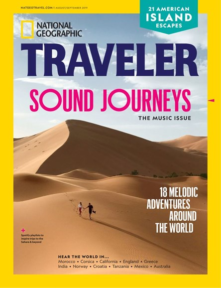 National Geographic Traveler Cover - 8/1/2019