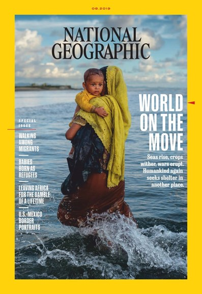 National Geographic Cover - 8/1/2019