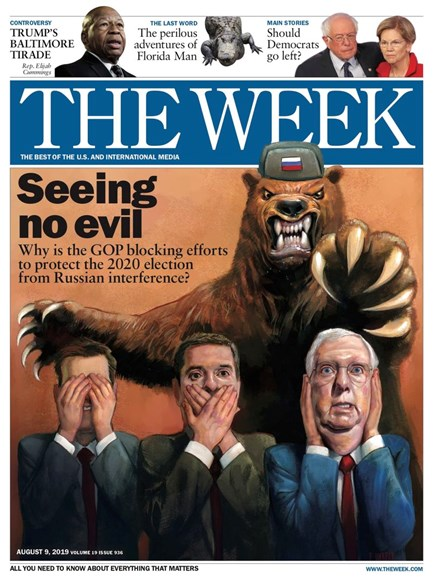 The Week Cover - 8/9/2019