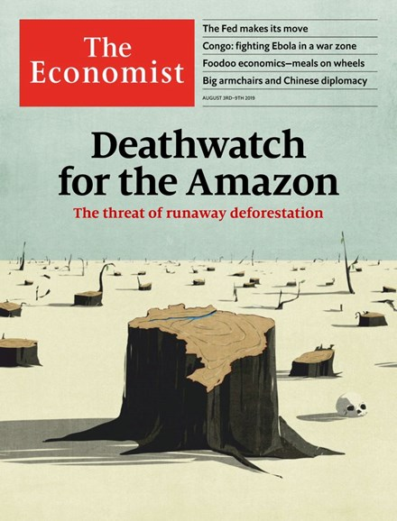 The Economist Cover - 8/3/2019