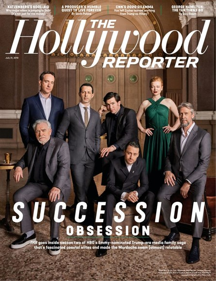 The Hollywood Reporter Cover - 7/31/2019