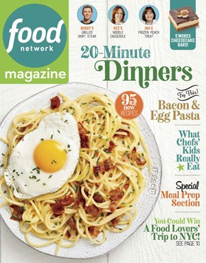 Food Network Magazine | 9/2019 Cover