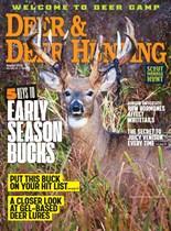 Deer & Deer Hunting | 8/2019 Cover