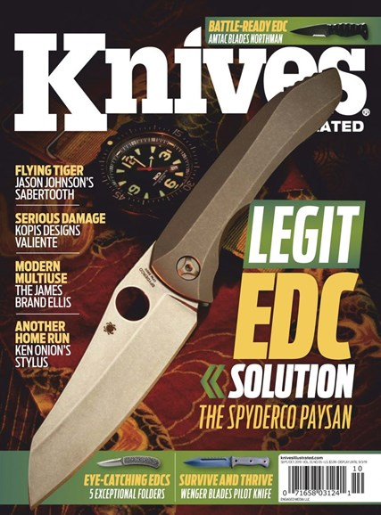 Knives Illustrated Cover - 9/1/2019