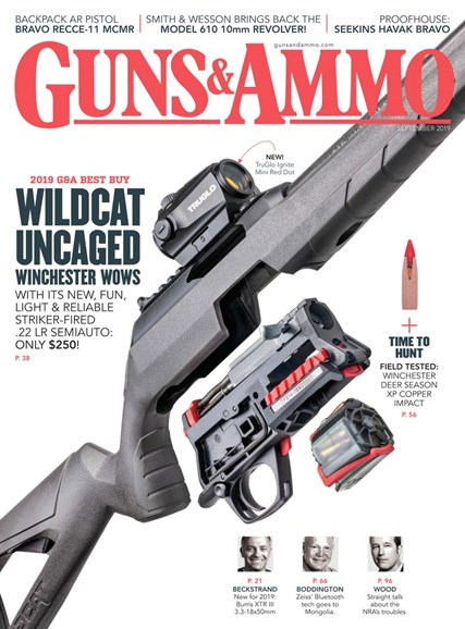 Guns & Ammo Cover - 9/1/2019