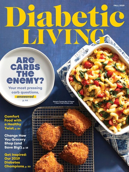 Diabetic Living Cover - 9/1/2019