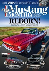 Mustang Monthly Magazine   9/2019 Cover