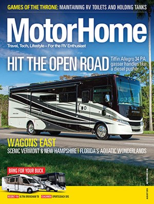 MotorHome Magazine | 8/2019 Cover
