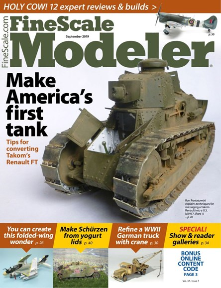 Finescale Modeler Cover - 9/1/2019