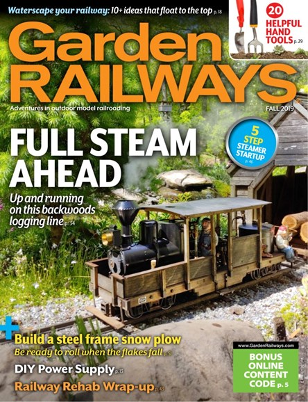 Garden Railways Cover - 9/1/2019