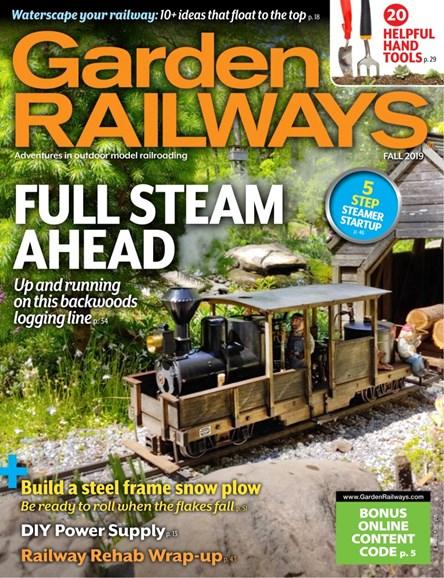 Garden Railways Cover - 9/1/2019