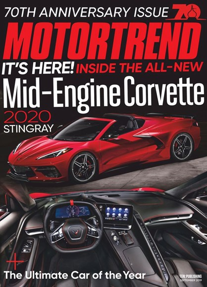 Motor Trend Cover - 9/1/2019