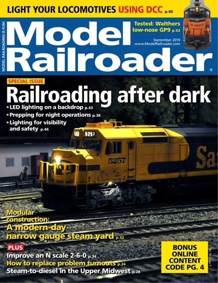 Model Railroader Cover - 9/1/2019